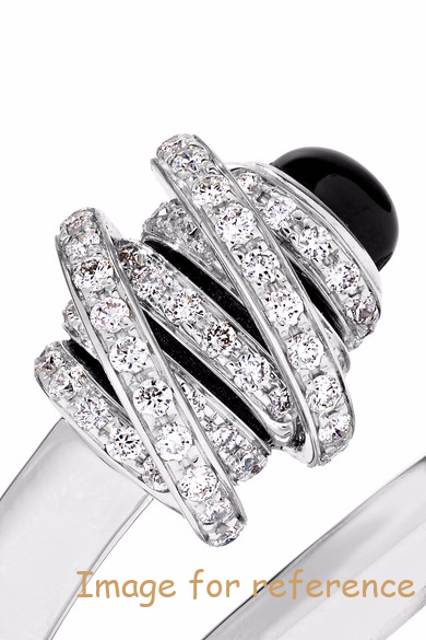 18K white gold ring OEM CZ Jewelry Manufacturer