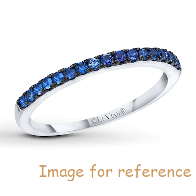 Sapphire Ring ODM OEM Sterling Silver Jewelry custom wholesaler