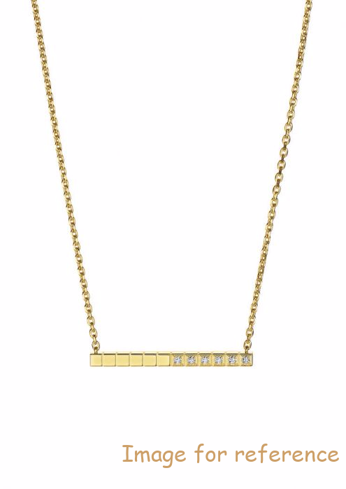 OEM ZIRCON NECKLACE , YELLOW GOLD MANUFACTURER