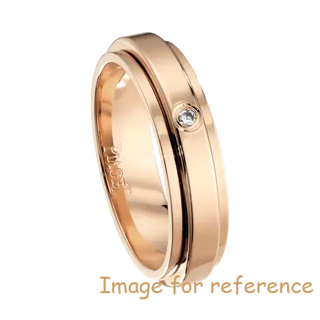 Sterling Silver Jewelry Factory wedding ring in 18K rose gold OEM ODM manufacturer