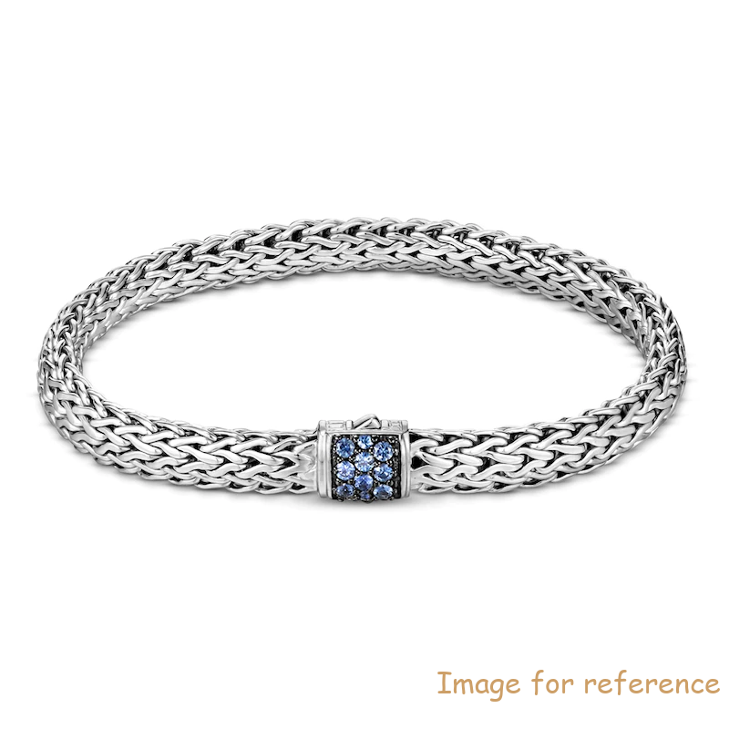 Custom Chain Bracelet Zircon Sterling Silver OEM Jewelry Manufacturer