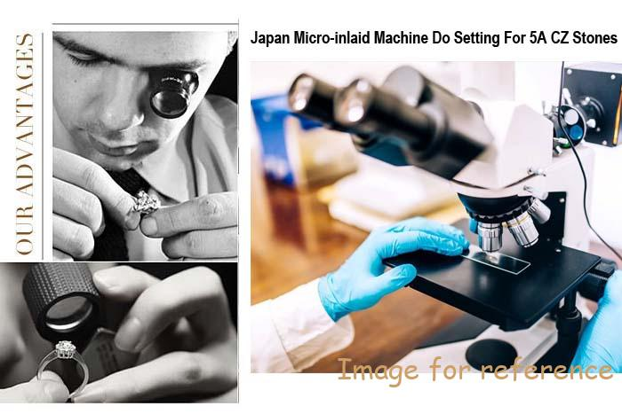 Japan-Micro-inlaid-machine-do-setting-for-5A-CZ-stones
