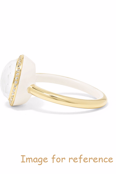 ceramic ring 925 silver