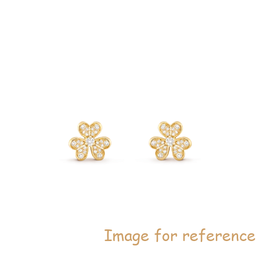 18K gold Customized Earring OEM 925 Sterling Silver Jewelry Manufacturer