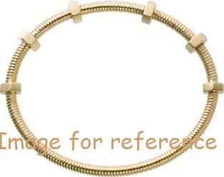 Customized 925 Silver 18K yellow gold bracelet supplier