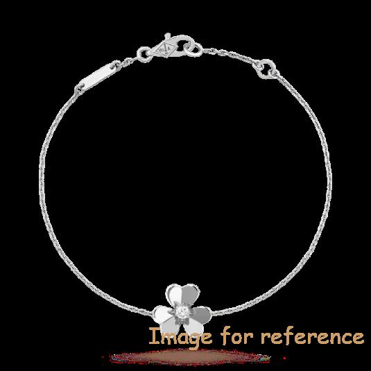 18k white gold bracelet Sterling Silver Jewelry Factory OEM