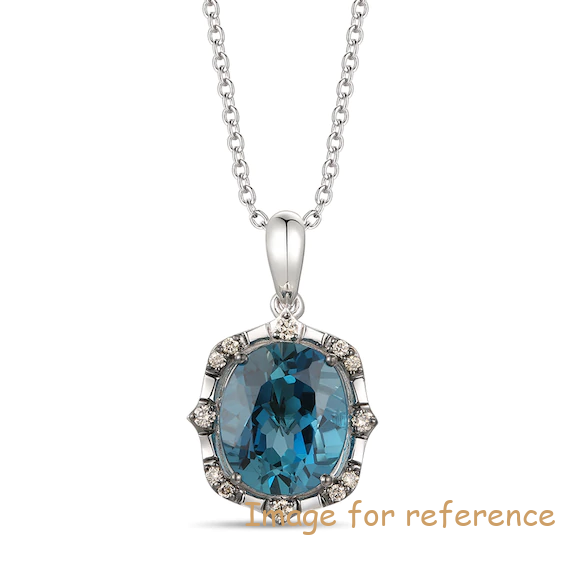 Custom Necklace 925 sterling silver manufacturers Zircon Jewelry OEM Factory