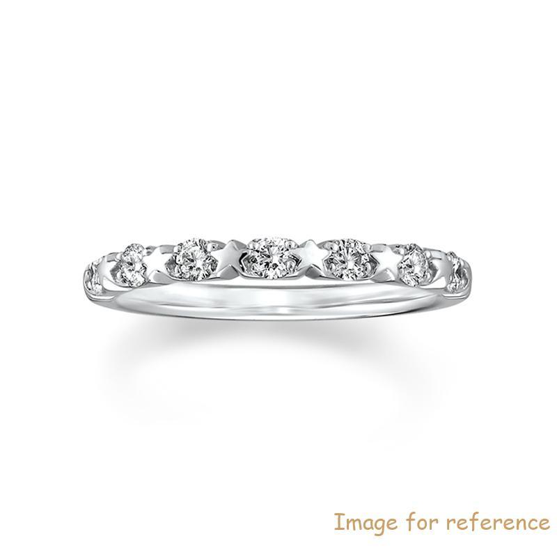 Premium Half Eternity Ring