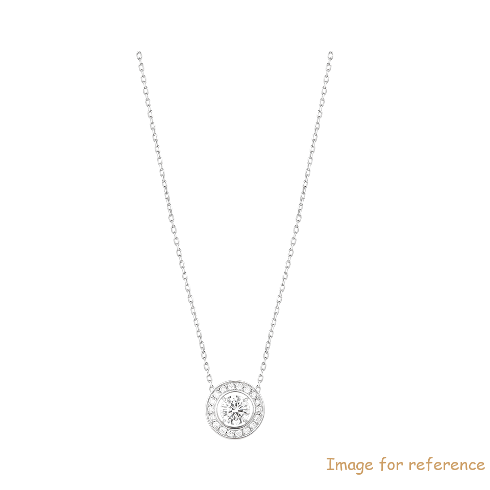 Pendant in white gold Wholesale Silver Jewelry Supplier