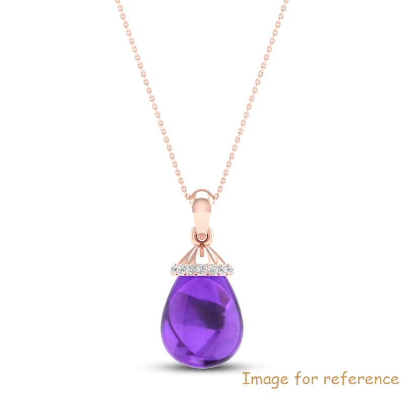 Sterling Silver Necklace 10K Rose Gold China Custom Jewelry Manufacturers